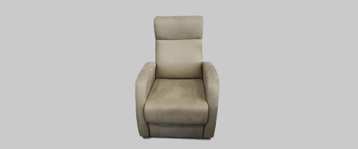 Sillon marron reclinable Valencia